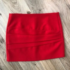 Red Maje Mini Skirt